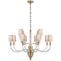 Vivian Large Two-Tier Chandelier