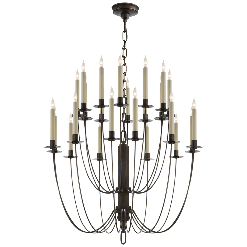 Erika Two-Tier Chandelier