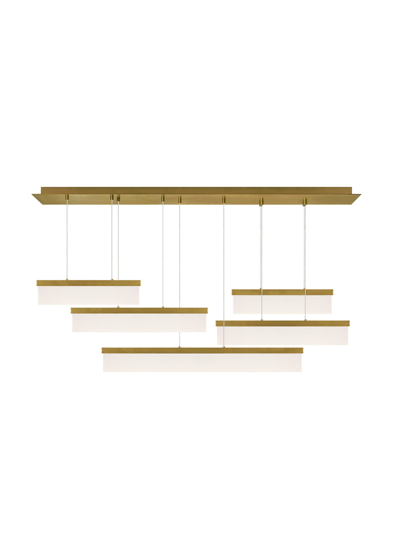 Sweep Linear Chandelier