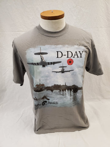 D-Day on Juno Adult T-Shirt (Unisex)