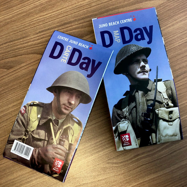 D-Day Map / D-Day Carte