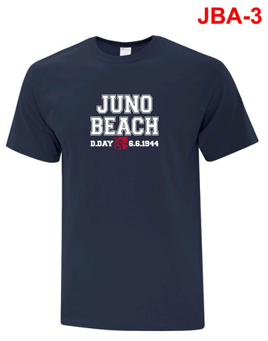 Juno Beach T Shirt -  Navy