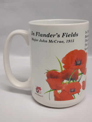 In Flander's Fields Ceramic Mug