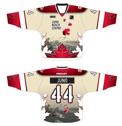 Juno Beach Centre Special Edition OHL Hockey Jersey