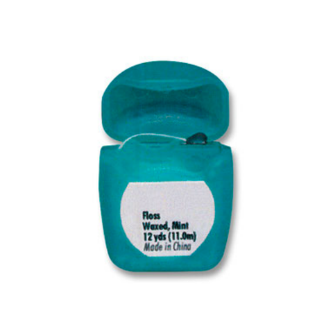 AllPro Dental Floss Waxed Mint, 72/Pk with 12yds each (Patient Sized)