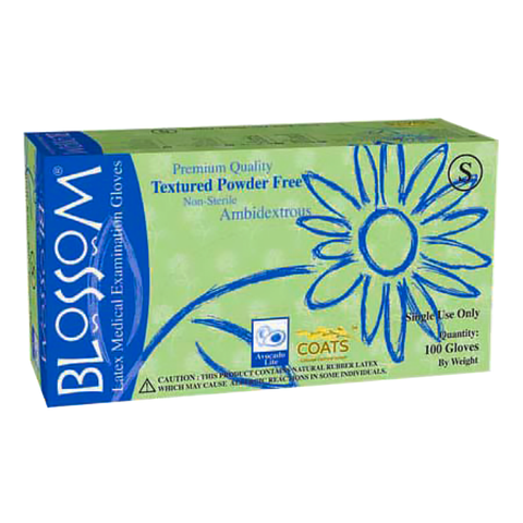 Blossom® Latex Exam Gloves with C.O.A.T.S.™ – Powder Free