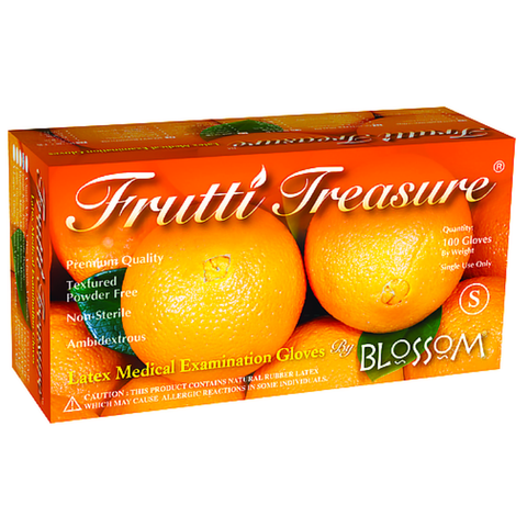 Blossom, Frutti Treasure Nitrile Powder-Free Exam Gloves