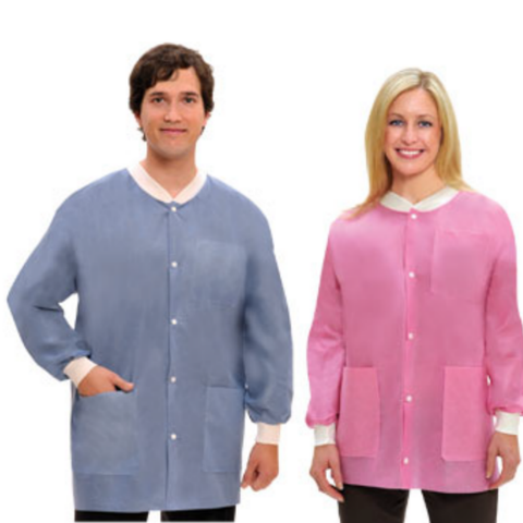 Extra-Safe™ Disposable Jackets – Hip Length