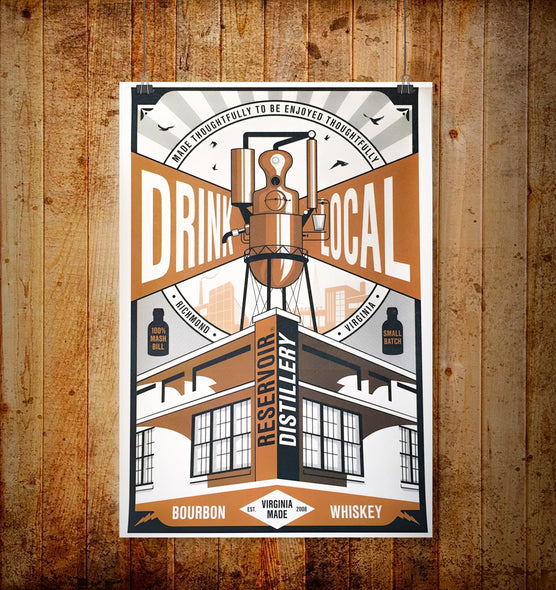 Drink Local Limited Edition Poster