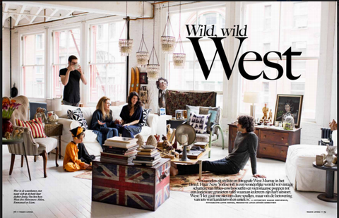 Dutch Vogue Decor Home Interiors Jenny Wonderling West Murray