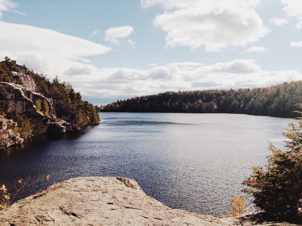 Lake Minnewaska Hudson Valley NY Hiking Skylake