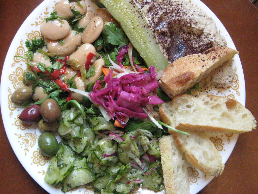 The Big Cheese Rosendale NY Mediterranean Platter