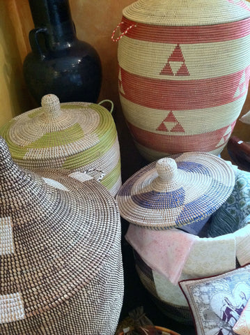 handmade handwoven fair trade sustainably and ethically sourced gifts and home decor