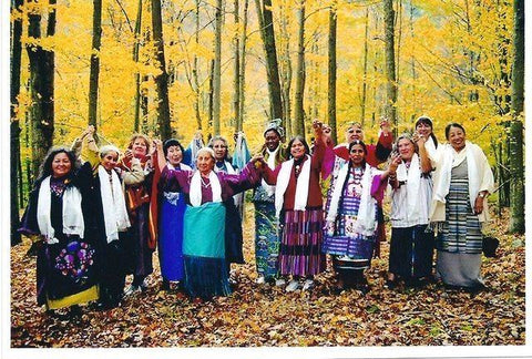 international council of 13 indigenous grandmothers Grandmother's Wisdom Reverence for all creation book