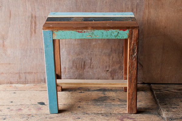 Children's Reclaimed Patchwork Table - Kids Furniture - Shop Nectar - 1