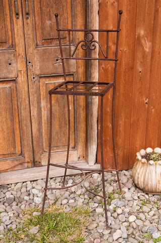 Moroccan Wrought Iron Barstools - Stools - Shop Nectar - 3