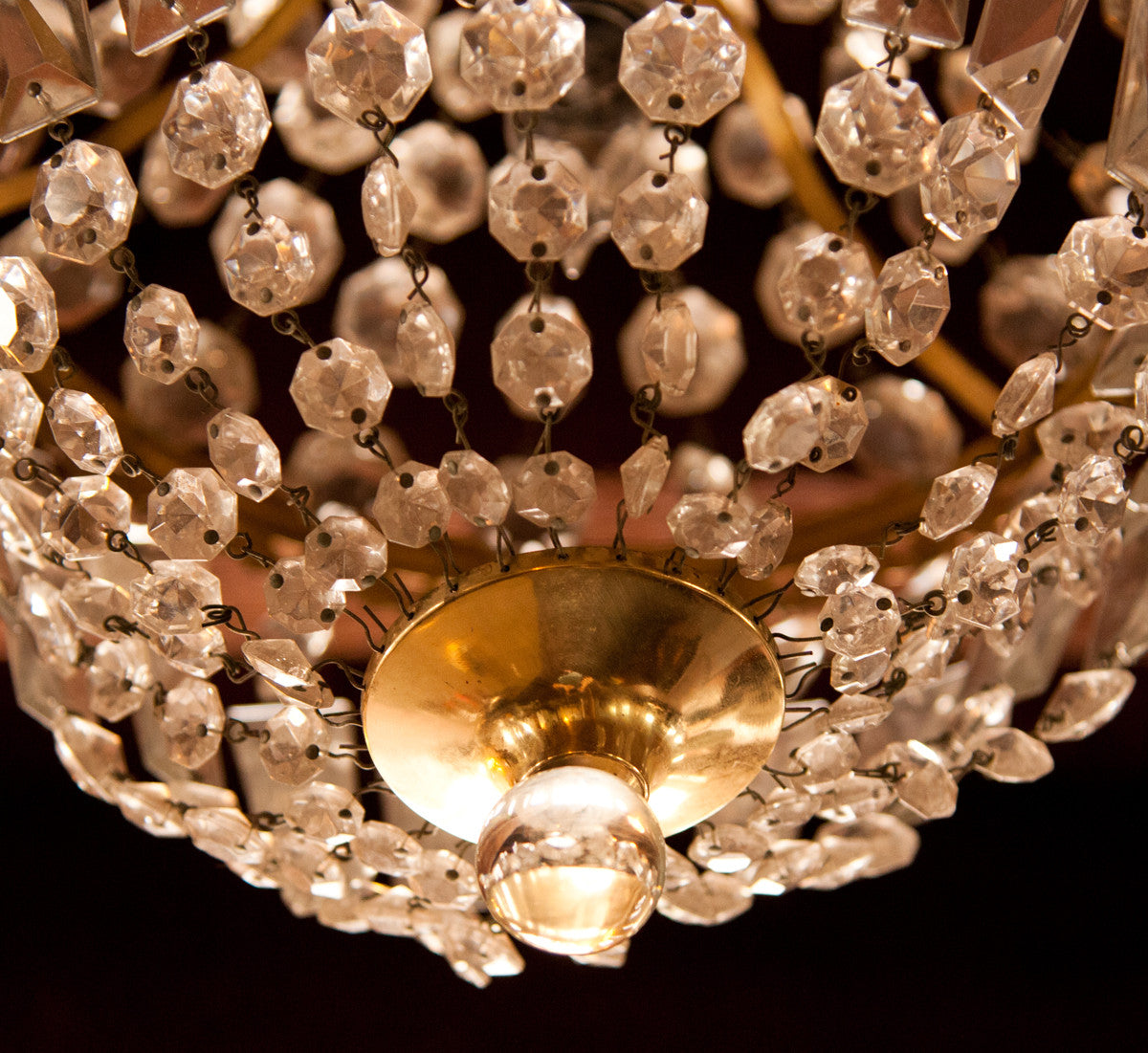 French Empire Dome Crystal Chandelier – French Empire Chandelier