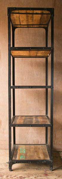 Industrial Metal Shelving - Open Shelving - Shop Nectar - 1