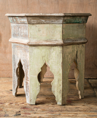 Octagonal and Hexagonal Wooden Indian Side Tables - Nightstands & Side Tables - Shop Nectar - 3