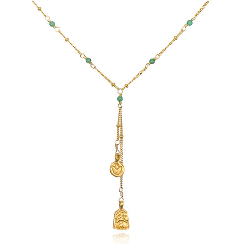 Turquoise Heaven Satya Necklace - Necklaces - Shop Nectar - 1