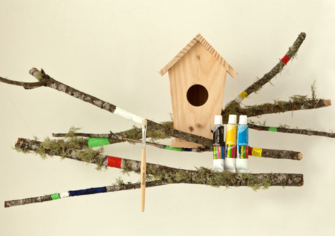 Design Your Own Birdhouse Crafting Kit - Activity Kits - Shop Nectar - 4
