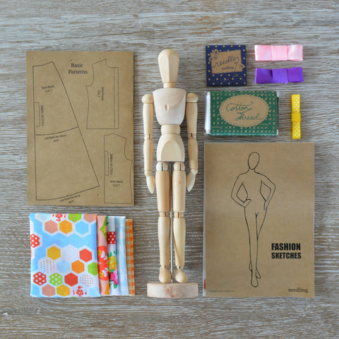 The Fashion Designer's Kit - Activity Kits - Shop Nectar - 1