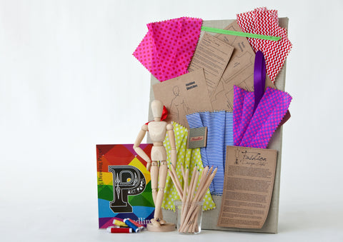 The Fashion Designer's Kit - Activity Kits - Shop Nectar - 4