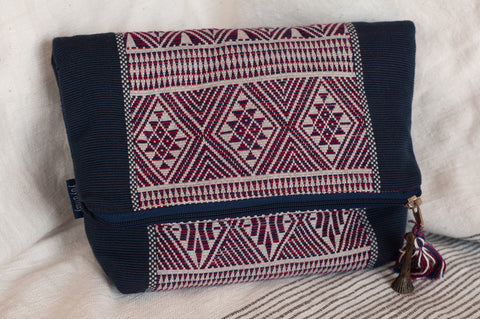 Yoyamay Handmade Fair Trade Fold-Over Clutch - Clutches - Shop Nectar - 1