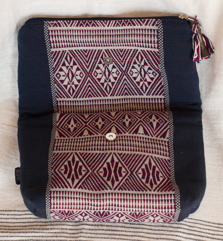 Yoyamay Handmade Fair Trade Fold-Over Clutch - Clutches - Shop Nectar - 2