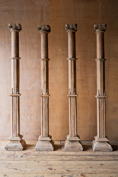 Rustic Hand Carved Columns - Columns - Shop Nectar - 1