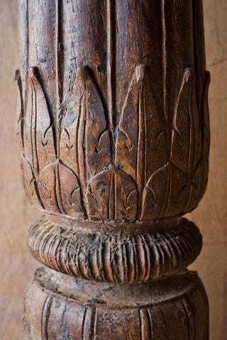 Ornately Carved Columns with Floral Details - Columns - Shop Nectar - 3