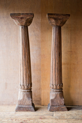 Ornately Carved Columns with Floral Details - Columns - Shop Nectar - 2