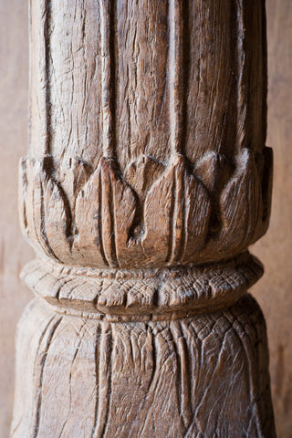 Ornately Carved Columns with Floral Details - Columns - Shop Nectar - 4