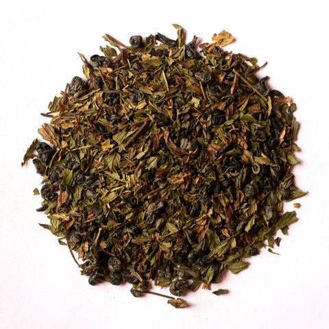 """Moroccan Mint"" Loose Leaf Tea - caffeinated, coffee-teaware, day, Gift, gifts, green tea, kitchen-dining, leafs, leaves, loose-leaf-tea, mint, Moroccan, mother's, organic, Staff Picks : Sweets & Savories, sweets-savories, tea, teas"