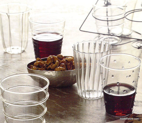 Roost Dainty Glasses - Dainty, Dinnerware, glass, Glasses, glassware, glassware-1, kitchen accessories, kitchen-dining, New Arrivals : Kitchen & Dining, Roost, tabletop-dinnerware, tumblers-cocktail-glasses