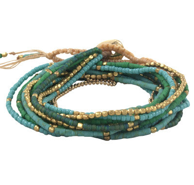 Fair Trade Marquet Lauren Akha Bracelets - accessories, accessory, Akha, anklet, assorted-styles, bracelets, bracelets-bangles-cuffs, celadon, day, fair-trade, gift, gifts, gifts-for-her, her, jewelry, Lauren, lava, Marquet, mothers, Necklace, red, Teal