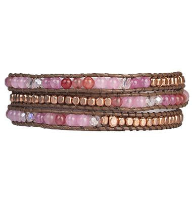 Fair Trade Marquet Casey Akha Wrap Bracelets - accessories, Akha, assorted-styles, blue, Bracelet, bracelets, bracelets-bangles-cuffs, Brown, Casey, dark brown, fair-trade, gift, gifts, green, her, jewelry, Marquet, mothers, Pink, red, Wrap Bracelets