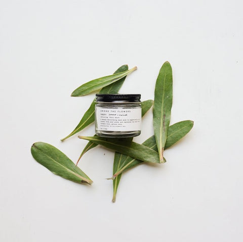 Among the Flowers Purify Face Mask, Organic Skin Cream, Organic Facial Products, Shop Small, Natural facial Serum, Wild Harvested