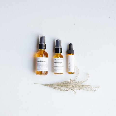 Among the Flowers, Organic Facial Products, Shop Small, Natural facial Serum, Wild Harvested