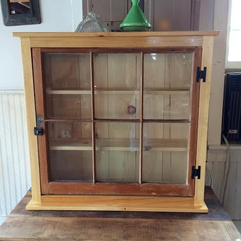 Antique Window Cabinet on Consignment - Cabinets - Shop Nectar - 1