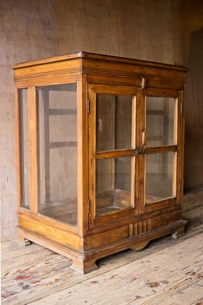 ... Antique Wood and Glass Short Cabinet - Cabinets - Shop Nectar - 1  handmade handcarved wood ... - Antique Wood And Glass Display Cabinet SHOP NECTAR