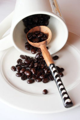 Fair Trade Batik Bone Inlay Coffee Scoop - Spoons & Scoops - Shop Nectar - 3