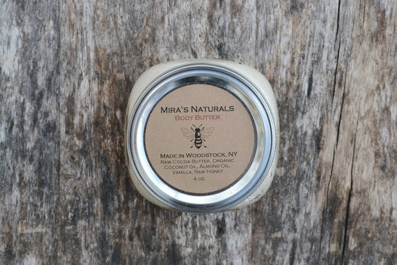 Mira's Naturals Body Butter - american-made, bath-beauty, beauty-hair-care, body-lotions, Natural, organic, soaps-lotions-creams
