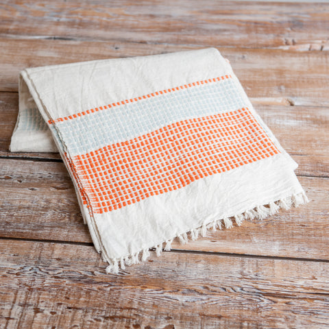 Fair Trade Striped Ethiopian Beach Blanket - assorted-styles, bedding-textiles, cotton, Creative Women, decor, fair-trade, pillows-throws, quilts-coverlets-throws, supporting-women, throw-blankets, Throws