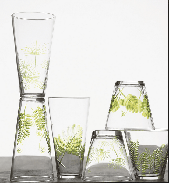 Roost Fern and Frond Glasses - assorted-styles, Gift, gifts-for-her, gifts-for-him, gifts-for-the-bridesmaids, gifts-for-the-couple, glass-collections, glassware-1, kitchen-dining, new-arrivals-in-kitchen-dining, Roost, wedding-gifts
