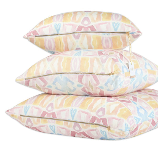Lemon Tree Watercolor Pillows by bunglo