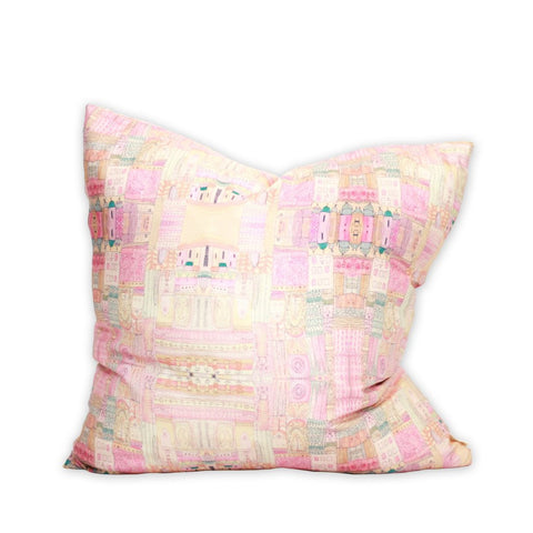 Mariana Watercolor Pillow by bunglo