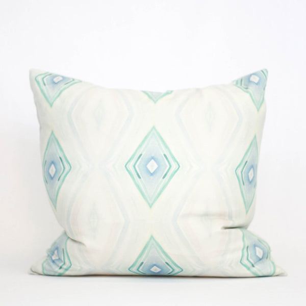 Ocean Light Watercolor Pillow by bunglo