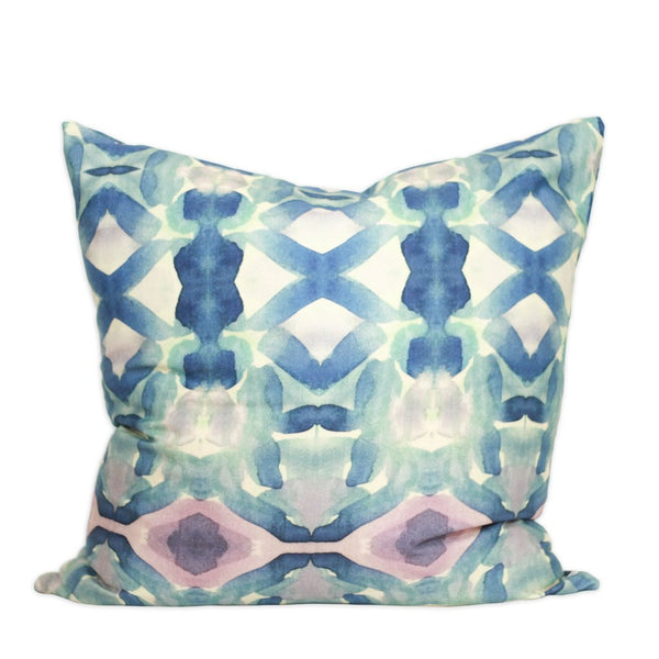 Tanzanite Watercolor Pillows by bunglo