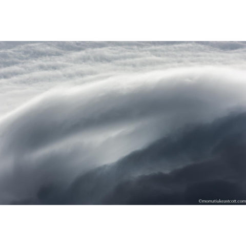"Fine Art Cloud Photography: ""Cloud Waves"" - art, cloud, clouds, cloudscape, cloudscapes, decor, fine art, local, local artist, local artists, Photograph, photographs, photography, wall art"